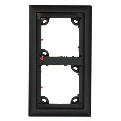 MOBOTIX MX-OPT-Frame-2-EXT-BL Double Frame, Black