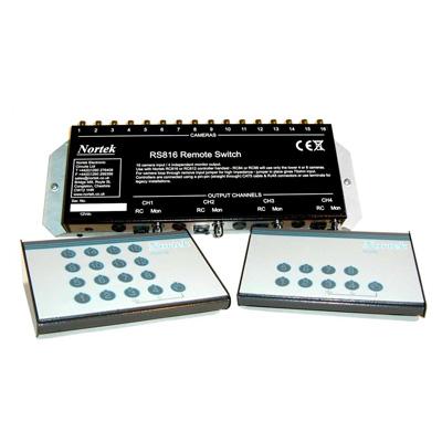 Nortek RC84 4-camera desk top control box