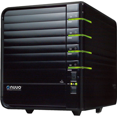 NUUO NV-4080 NVR surveillance recording system that supports both IP and analog cameras