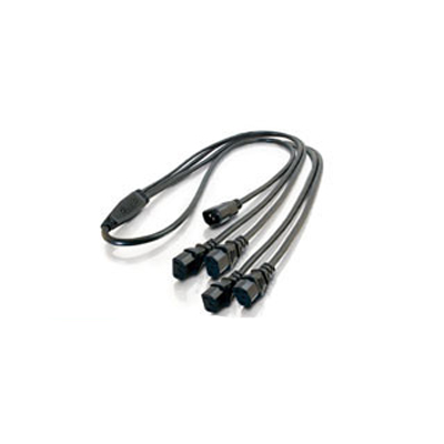 NVT NV-DPSC4 detachable power supply cord splitter