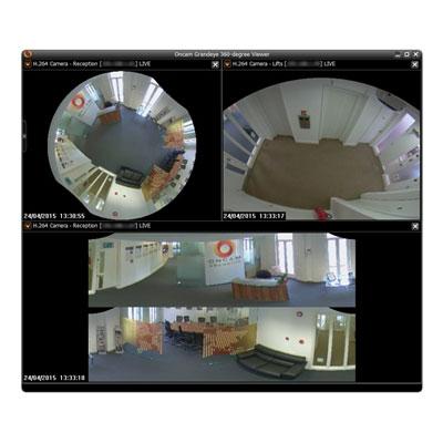 Oncam 360-degree Camera Viewer CCTV software