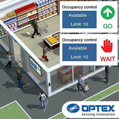 OPTEX Akribos VC-1020 IP camera