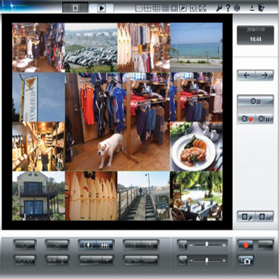 Panasonic BB-HNP17 H.264, MPEG-4 and JPEG recording software with flexible layout