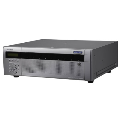 Panasonic brings to the market the WJ-ND400 high-performance network video recorder