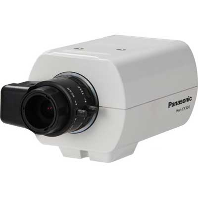 Panasonic WV-CP310 day/night fixed camera with advanced features