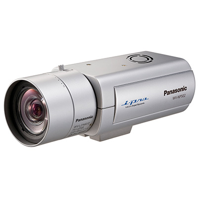 Panasonic WV-NP502E 3.0 megapixel true day/night HD network camera