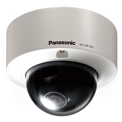 Panasonic WV-SF342E 1.3 megapixel fixed dome network camera