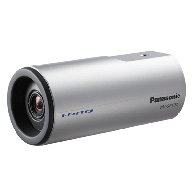 Panasonic WV-SP102 IP camera with digital noise reduction
