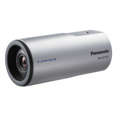 Panasonic introduces two highly cost effective, i-Pro SmartHD security cameras - the WV-SP105 and WV-SP102