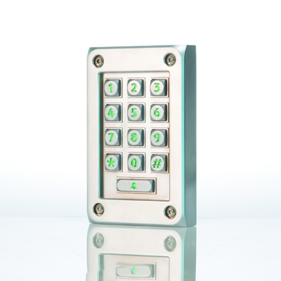 Paxton Access 521-836 vandal resistant compact metal keypad