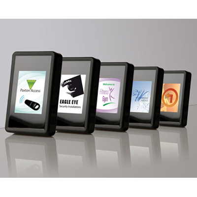 The possibilities are endless with the new PROXIMITY LCD reader from Paxton Access