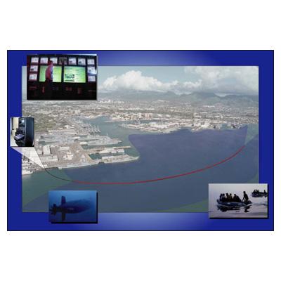 PCSC DiverAlert passive fiber optic intrusion detector