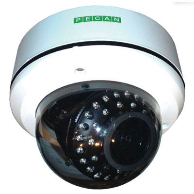 Pecan VRD141 1/3 inch CCD true day / night 600 TVL vandal-resistant dome camera