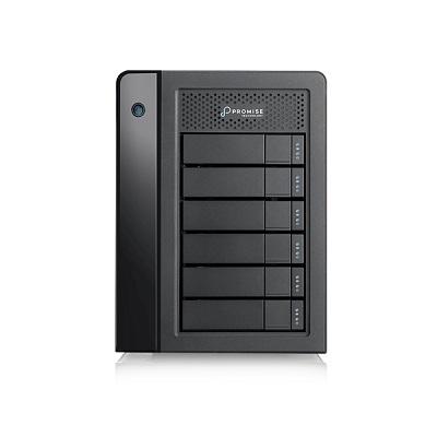 Promise Technology Pegasus3 R6 6-Bay hardware RAID enclosure