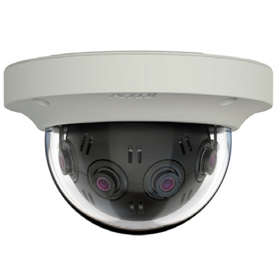 Pelco presents seamless situational awareness at 12MP resolution with ePTZ across 360° panorama