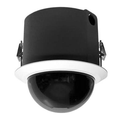 Pelco SD4C22-F0-X colour internal PTZ dome camera- flush mount smoked