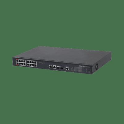 Dahua Technology PFS4218-16ET-240 16-port 100 Mbps + 2-port Gigabit Managed PoE Switch