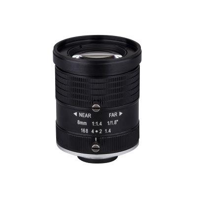 "Dahua Technology PLF2060-M 6 MegaPixel 1/1.8"" 8mm Fixed Lens"