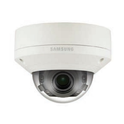 Hanwha Techwin America PNV-9080R 4K Vandal-Resistant Network IR Dome Camera