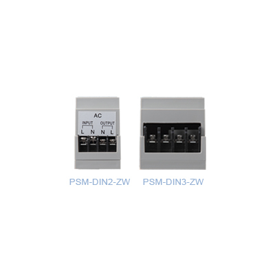 Climax Technology PSM-DIN2/3-ZW DIN Rail Power Meter Switch