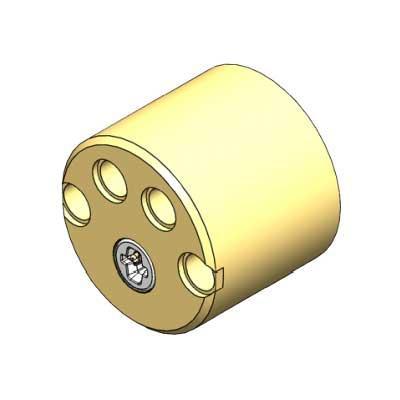 ASSA ABLOY PULSE S-round Inside Scandinavian cylinder