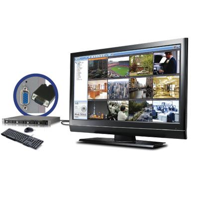 QNAP VS-4012U-RP Pro network video recorder with multi-server monitoring