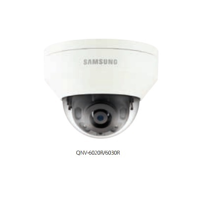 Hanwha Techwin America QNV-6020R 2M Vandal-Resistant Network IR Dome Camera