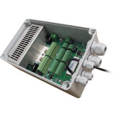 RedVision RVX-PSU-ALM16-W - PSU with 16 hard wired and 16 wireless alarm inputs-3 alarm outputs