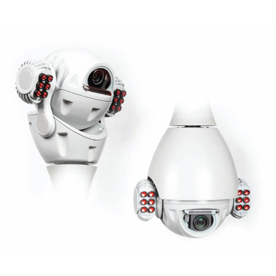 RedVision RVX18-IR-W X-Series dome / PTZ camera, 18X zoom with built in IR and wiper