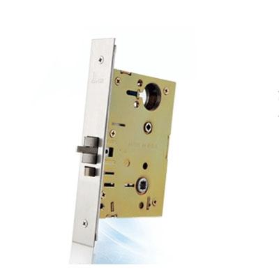 SALTO ANSI mortice lock with deadbolt