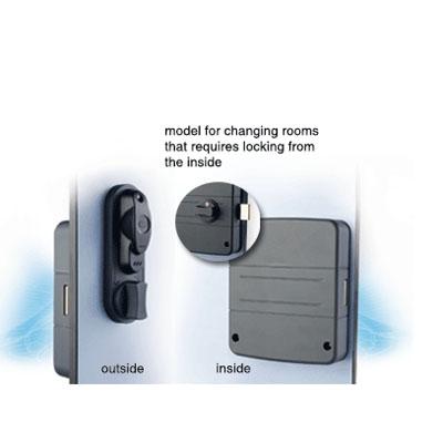 SALTO i-Locker electronic locker lock designed to secure lockers and cabinets