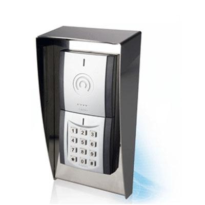 SALTO RFID contactless modular wall reader with keypad