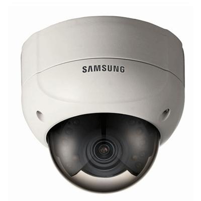 Hanwha Techwin America SCV-2080RP dome camera with OSD menu access via coaxial telemetry