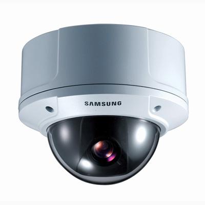 Hanwha Techwin America Techwin SCC-B5398N high resolution day/night vandal resistant dome camera with 600 TVL