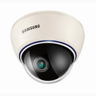 Hanwha Techwin America Techwin SID-460N high resolution day & night dome camera with 580 TVL
