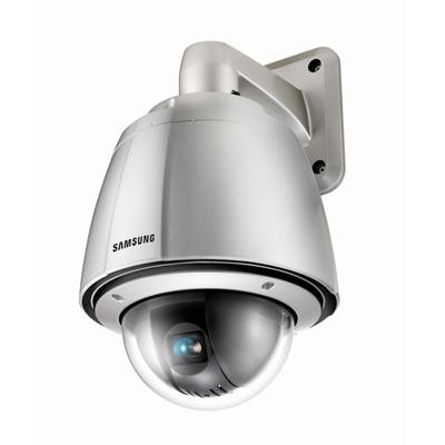 Hanwha Techwin America Techwin SPU-3750T high resolution WDR PTZ dome camera with 550 TVL