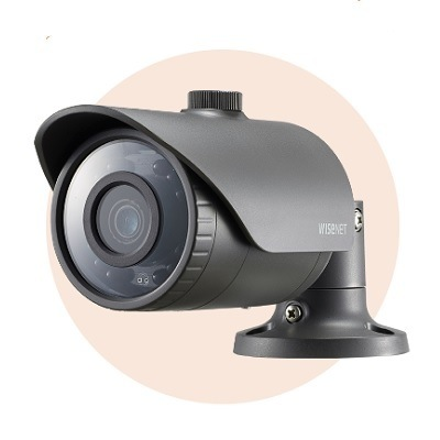 Hanwha Techwin America SCO-6023R 1080p Full-HD IR Bullet Camera
