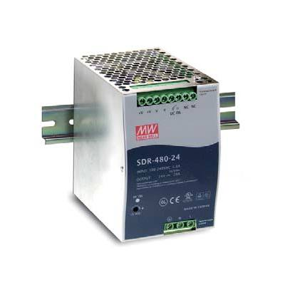 BCDVideo SDR-480-48 480W Single Output Industrial DIN RAILwith PFC Function