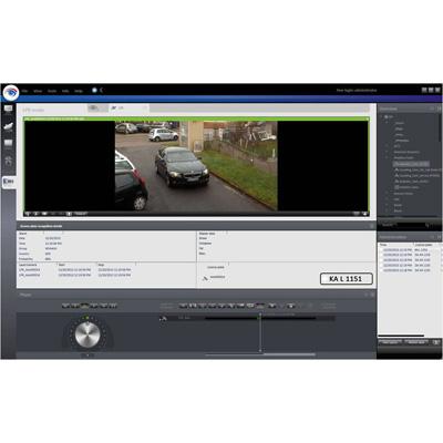 Qognify Cayuga LPR Module CCTV software