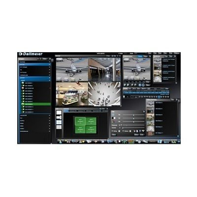 Dallmeier SeMSy III Workstation Software central control and evaluation instrument