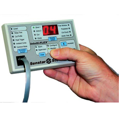 Senstar Intelli-FLEX™ microphonic cable intrusion detection sensor