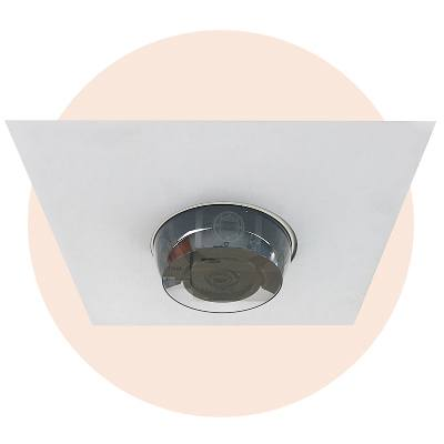 Hanwha Techwin America SHD-317F Indoor 2X2 Drop Ceiling Tile Flush Mount