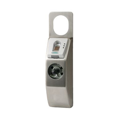 Siemens FP5000 battery powered fingerprint reader Assa lock case