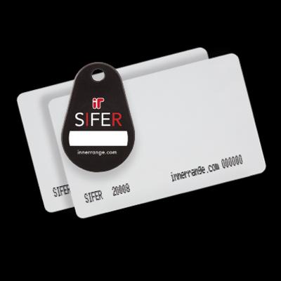 Inner Range SIFER-C Custom Programmed Credentials