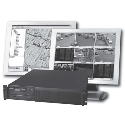 Siqura i-NVR+ Compact 1000-8 network video recorder with 8 inputs