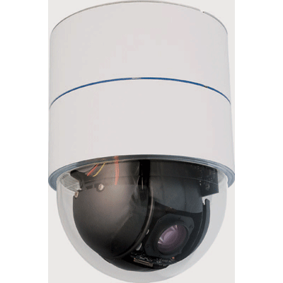 Siqura MD10A vandal resistant dome camera with 16 privacy masks