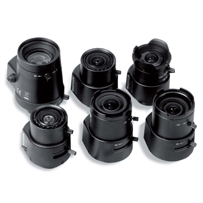 Siqura VL34 megapixel CCTV camera lens with C mount