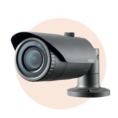 Hanwha Techwin America SNO-L5083R 1.3MP HD Weatherproof IR Bullet