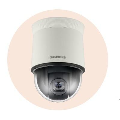Hanwha Techwin America SNP-L5233 1.3MP HD 23x Network PTZ Dome Camera