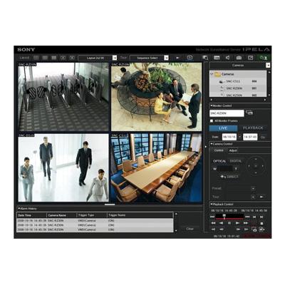 Sony IMZ-NS101 intelligent monitoring software